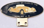 badge Morgan :+8 35th years