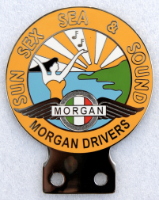 badge Morgan : 4S Morgan drivers