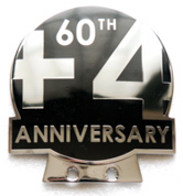 badge Morgan : 60th anniversary of +4