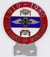 badge Morgan : 70 years of Morgans