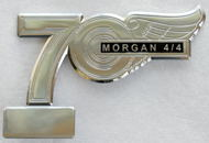 badge Morgan : 70th