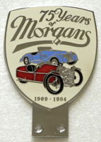 badge Morgan : 75 years