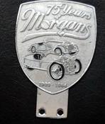 badge Morgan : 75years