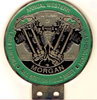 badge Morgan : All British Field Twenty first