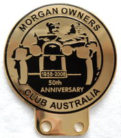 badge Morgan : Australia MOCA 50th anniversary