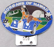 badge Morgan :Hawaii Morgan club  Aloha n009