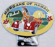 badge Morgan :Hawaii Morgan club Aloha n012