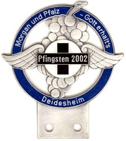 badge Morgan :MCD Pfingsten 2002