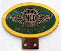 badge Morgan :MCD Sektion Ost