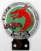 badge Morgan :MOG 15 Llangollen