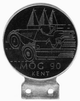 badge Morgan :MOG 90 Kent black