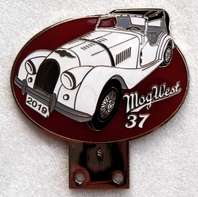 badge Morgan :MOG WEST 37
