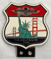 badge Morgan : MORGAN OVER AMERICA the Great Route