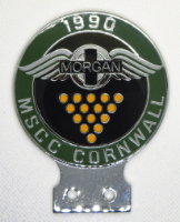 badge Morgan :MSCC Cornwall 1990