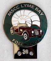 badge Morgan :MSCC Lyme Bay  n28