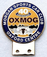 badge Morgan :MSCC Oxmog 40th anniversary