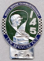 badge Morgan :MSCCD Lew Spencer cup n10