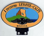 badge Morgan :MSCCE Levante Calpe
