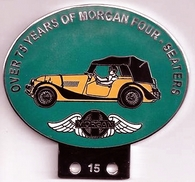 badge Morgan :Morgan Four seaters 75 ans green