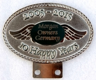 badge Morgan :Morgan Owners Germany 10years