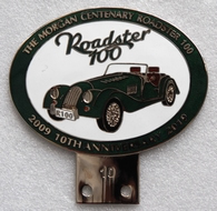 badge Morgan :Morgan Roadster 100 10th anniversary