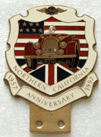 badge Morgan : Northern California 40th anniversary