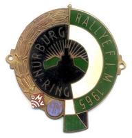badge Morgan :Nurburgring_1965
