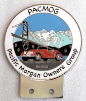 badge Morgan :PACMOG