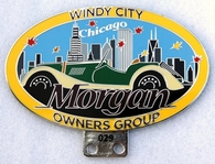 badge Morgan :Windy City Chicago MOG II